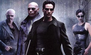 Neo tricks: Keanu Reeves and friends in The Matrix.
