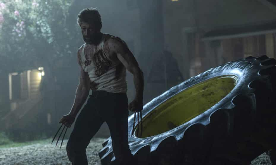 'Legitimately dangerous': Hugh Jackman in Logan.