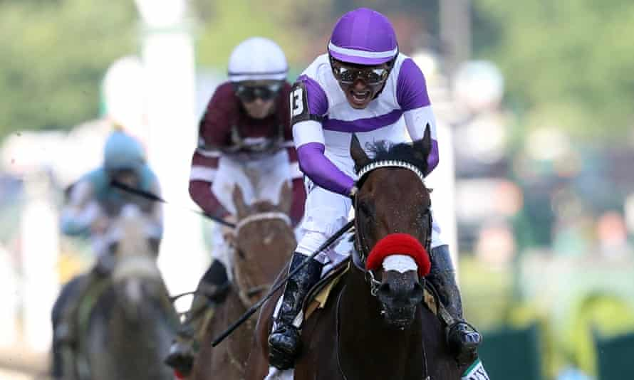 Nyquist wins the Kentucky Derby: he'll now go to the Preakness Stakes for the second leg of the Triple Crown.