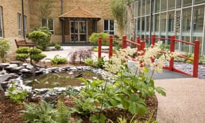 Chase Farm hospital therapy gardens