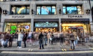 Taveta is struggling to refinance a £310m loan on Topshop's Oxford Street store.