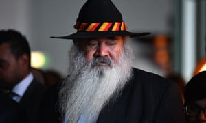 Pat Dodson says community-led solutions are needed to 'address the clear sense of suffering, hopelessness and disillusionment that is being felt'