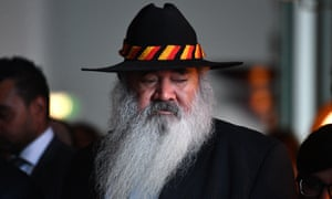 Labor Senator Pat Dodson at the Close the Gap parliamentary breakfast event at Parliament House in Canberra, Thursday, February 8, 2018.