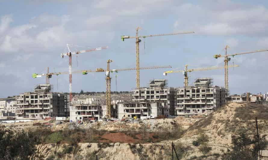 Building work in Jewish settlement