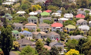 Suburban houses in Auckland. One of the properties being investigated has doubled in value in less than a year.