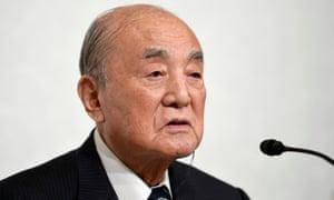 Japan's former prime minister Yasuhiro Nakasone has died aged 101.