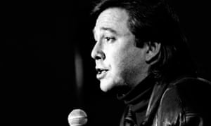 Not for the faint-hearted … Bill Hicks, who died 25 years ago this week.