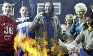 Frank Gallagher and the gang.