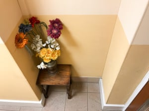 A flower arrangement on a table