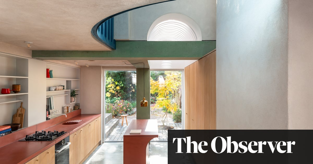 Concrete thinking: an astonishing terrace extension