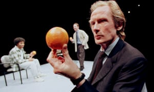 Extraordinary … Bill Nighy in Blue/Orange, with Chiwetel Ejiofor and Andrew Lincoln.