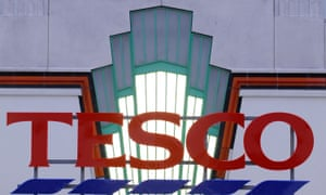 Tesco shares move higher on hopes its recovery is gathering