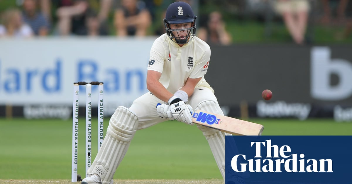 Ollie Pope's assured innings hints at bright future in England middle order | Chris Stocks