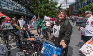 Protest over false and inaccurate PIP assessments