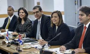 Cuba-US talks diplomatic relations