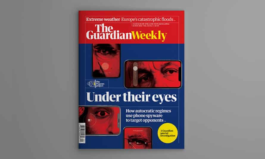 The cover of the 16 July edition of Guardian Weekly.