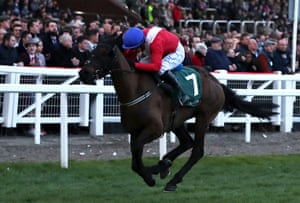 Ferny Hollow ridden by Paul Townend on their way to winning the Champion Bumper.