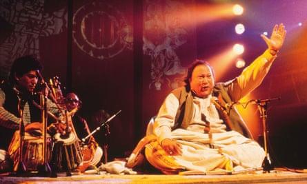 Nusrat Fateh Ali Khan.