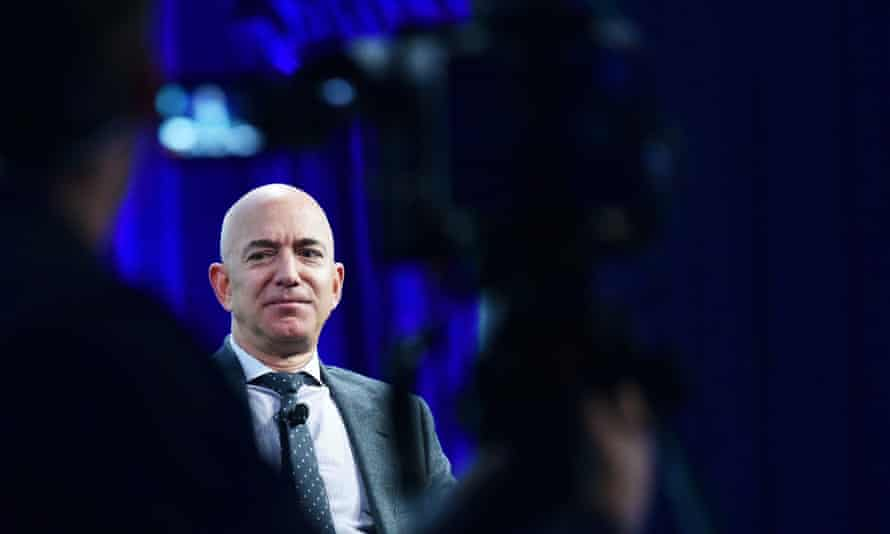 Jeff Bezos, Amazon's founder and the world's richest man.