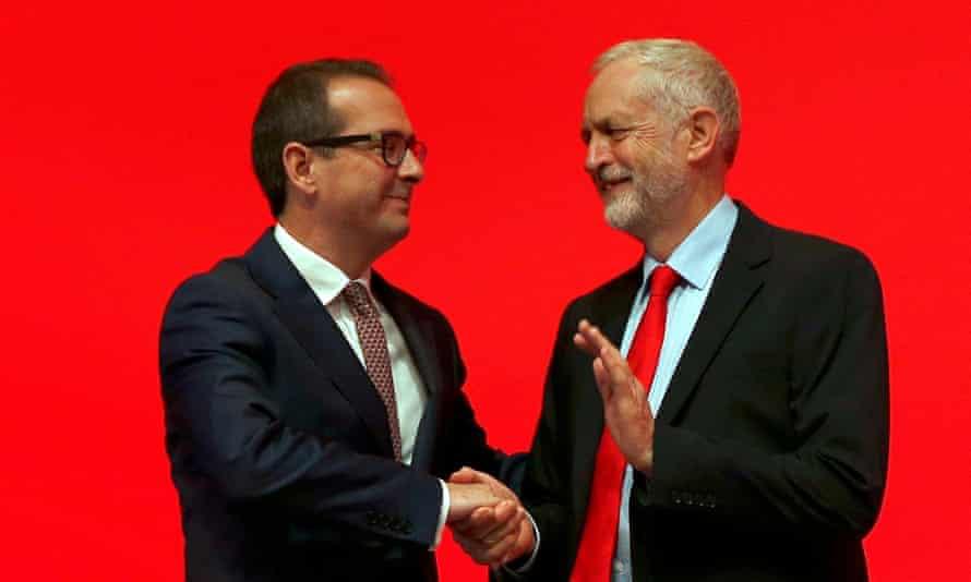Labour's Owen Smith and Jeremy Corbyn