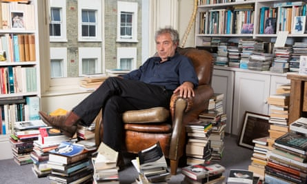 Adam Phillips photographed at his home in London last month by Richard Saker for the New Review.