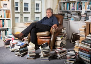 Psychoanalyst Adam Phillips photographed at his home in Notting Hill in west London