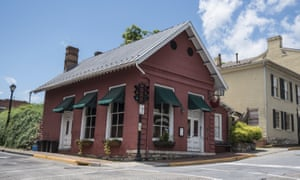 The Red Hen Restaurant in downtown Lexington, Virginia.