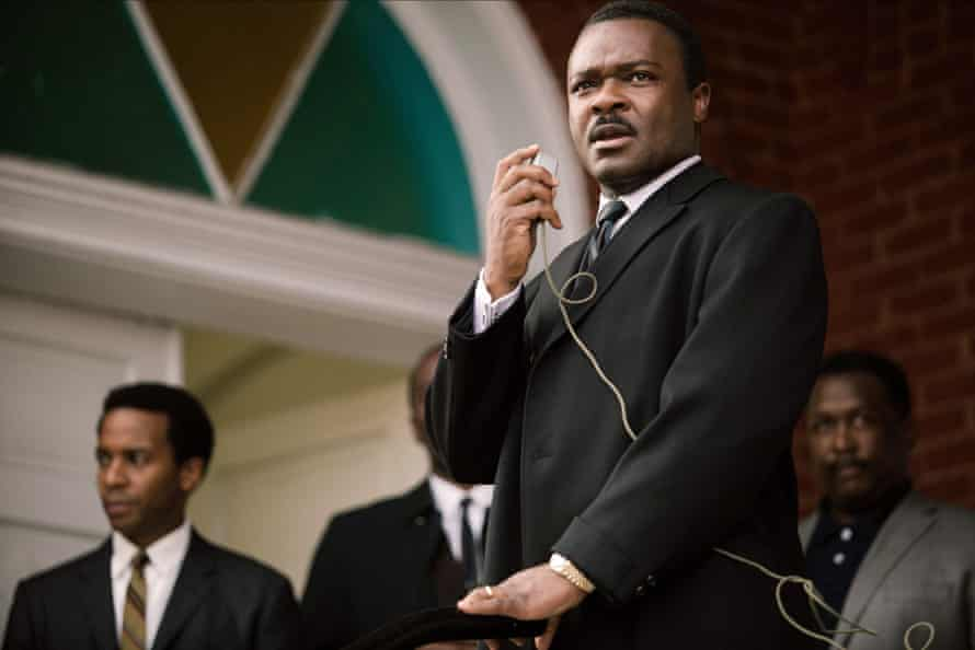 As Martin Luther King in Selma.