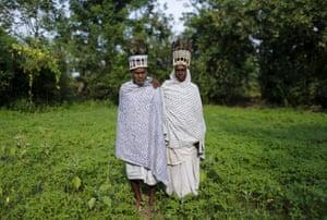 Tiharu Ram, 70, and his wife Phirtin Bai