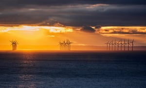 The story takes place in a vast windfarm of turbines on Dogger Bank.