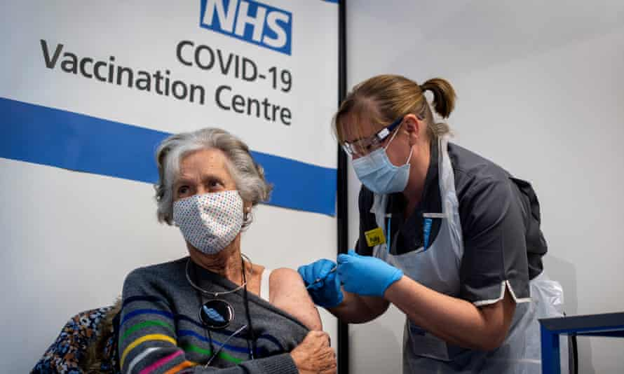 The UK's vaccination programme gets under way