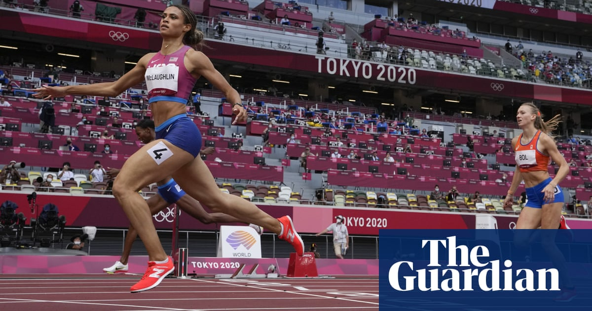 The greatest race ever part II: Sydney McLaughlin wins 400m hurdles gold in world record time