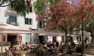 Ibiza Town on 11 July. British tourists returned to Spain and the Balearic Islands when travel restrictions were relaxed earlier this month.