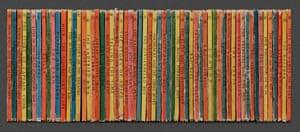 Ladybird books photographed by artist Mark Vessey