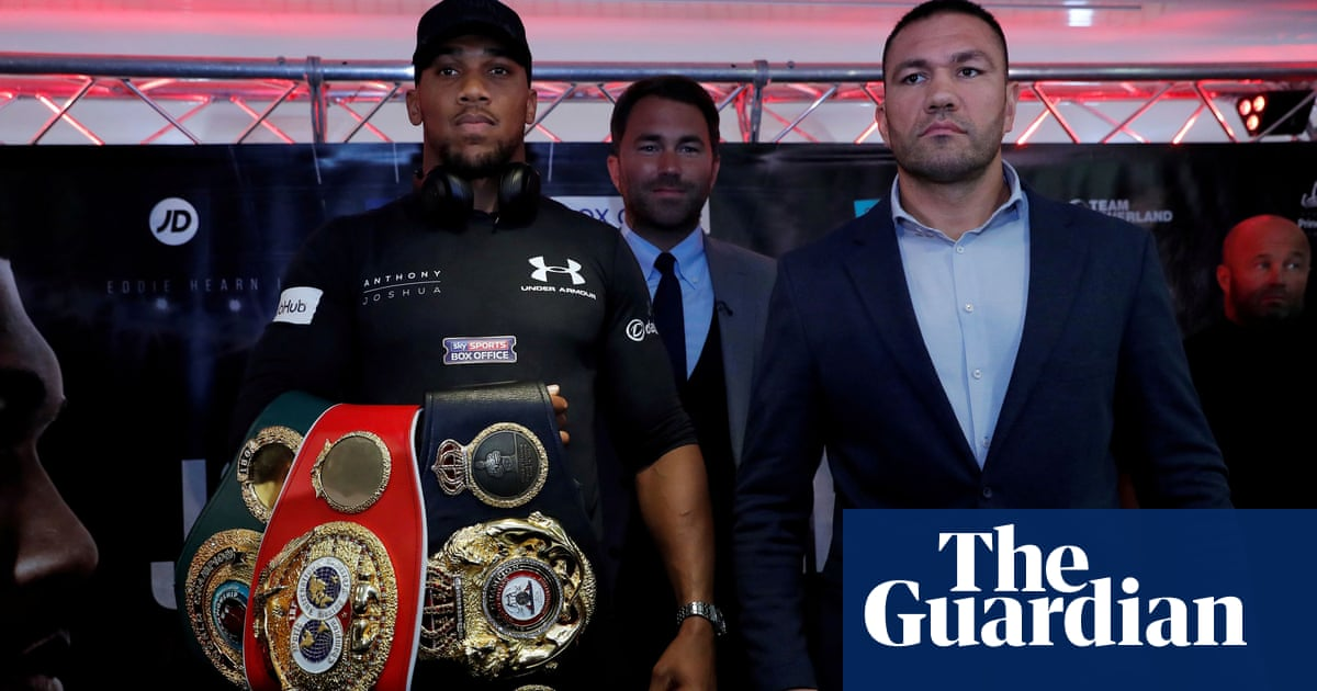 Kubrat Pulev apologises for Anthony Joshua tan comment as fight date is set