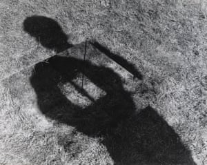 'The most enticing work in the show': Keith Arnatt's Invisible Hole Revealed by the Shadow of the Artist, 1968.