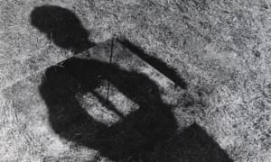 Keith Arnatt's Invisible Hole Revealed by the Shadow of the Artist, 1968.