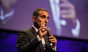 Bassem Youssef at Sydney's Town Hall