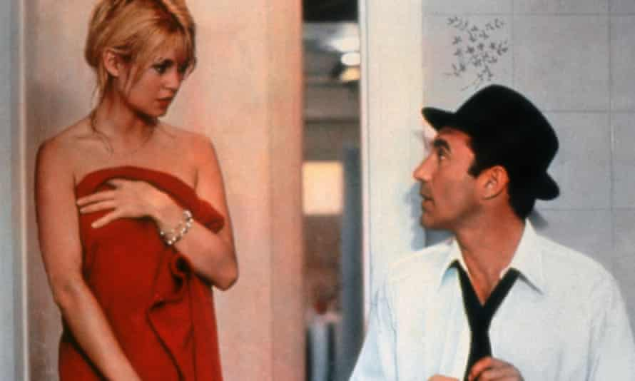 Piccoli with Brigitte Bardot in Jean-Luc Godard's Contempt.