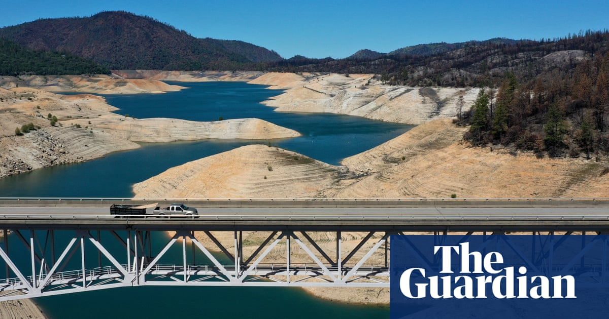 California faces another drought as lake beds turn to dust – a photo essay