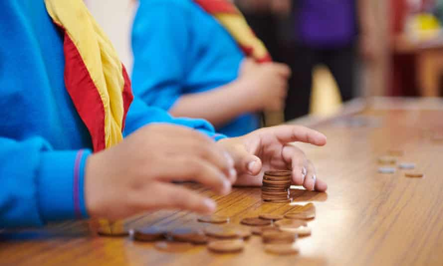 20th Edmonton Beavers learn about money