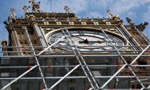 clockface of Elizabeth Tower