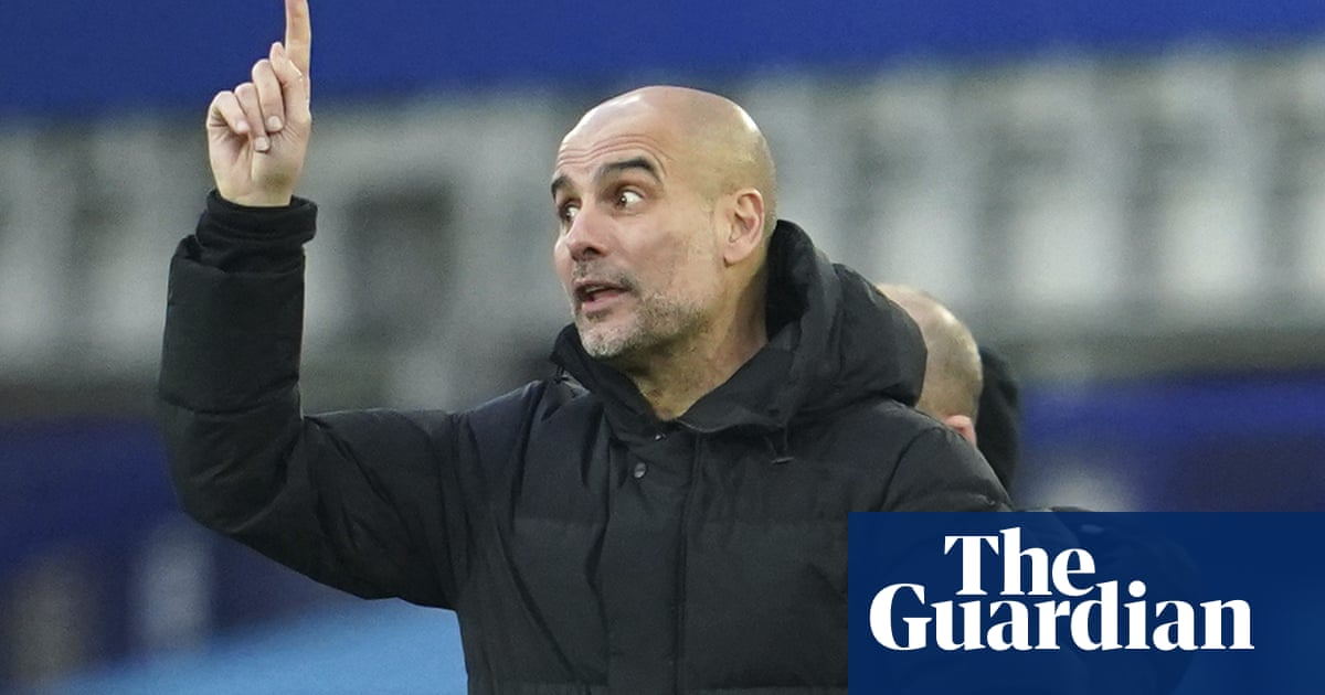 Guardiola claims there is 'big chance' he will not sign striker to replace Agüero