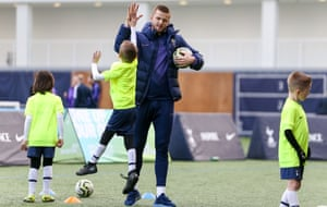 Eric Dier was speaking at the annual One Hotspur Junior Christmas Party, held at the Club's Training Centre