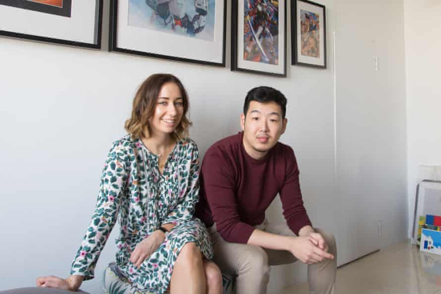 Sophie Nowland and Chaiun Chung, two of usail's first residents.