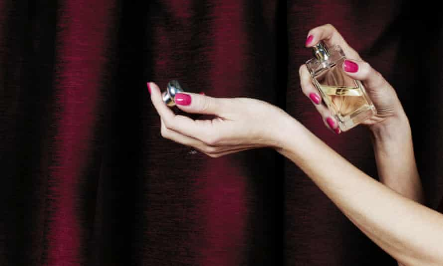 'A lovely mood booster': spritz on some perfume in lockdown.