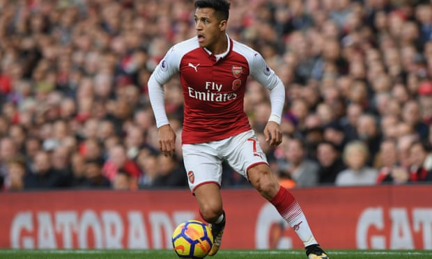 Alexis Sánchez is out of contract at Arsenal in the summer.