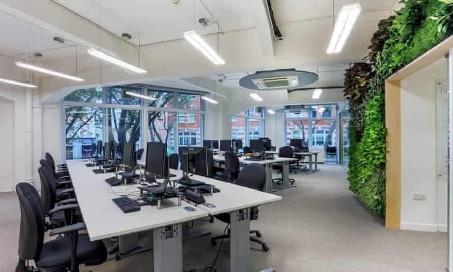 The offices of the UK Green Building Council.