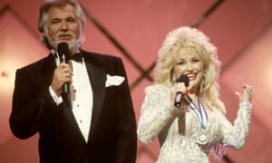 Kenny Rogers and Dolly Parton had huge success with their duet Islands in the Stream in 1983.