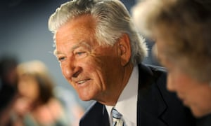 Bob Hawke at the Labor party campaign launch in 2010